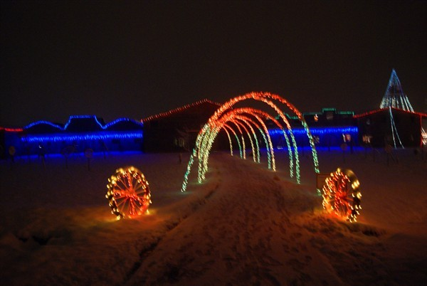 Christmas Lights And Shows In Lake Norman And Charlotte