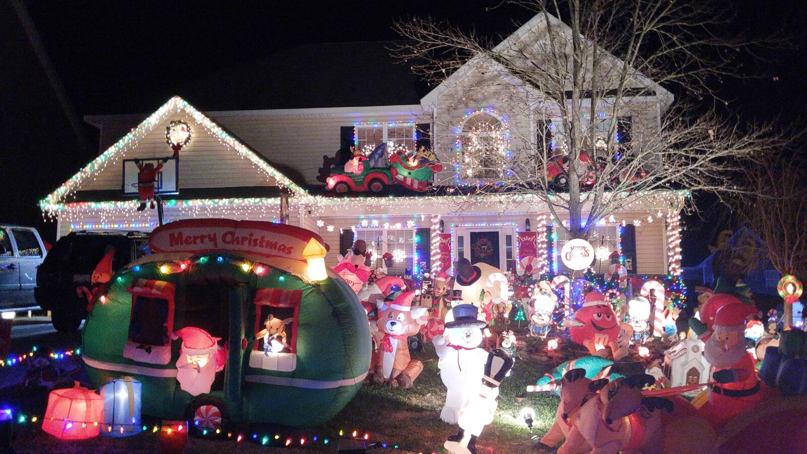 christmas lights lake norman and charlotte area 2015